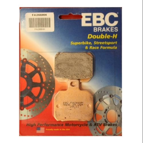EBC Double-H Sintered Brake Pads Rear Fits 10-12 Ducati Monster 796