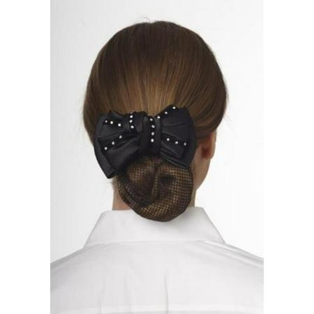 Ovation Premium Show Bow-Black Gem Floral