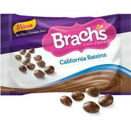 Brachs Chocolate Covered Raisins  12 Oz