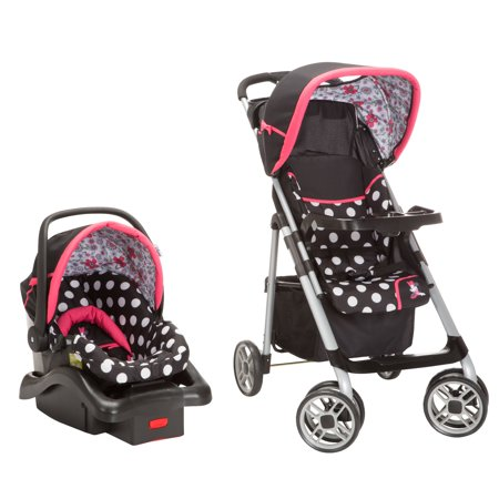 Disney Saunter Sport LC 22 Travel System Coral Flowers Minnie Mouse