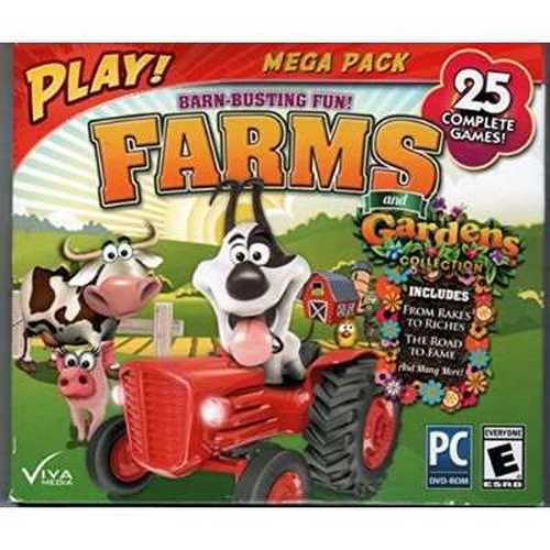 PLAY FARMS AND GARDENS 25 PACK JC