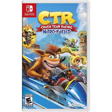 Crash Team Racing, Activision, Nintendo Switch, 047875883987