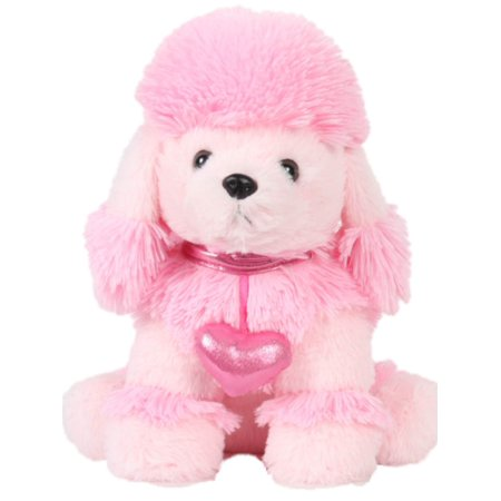 Linzy Toys Plush Pink French Poodle 13