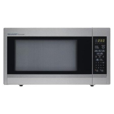 Sharp 1.8 Cu.ft, 1100w Full-size Countertop Microwave - Single - 1.80 ...