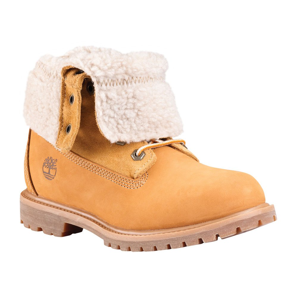 Timberland Teddy Fleece Waterproof Fold-Down Boots - Women's