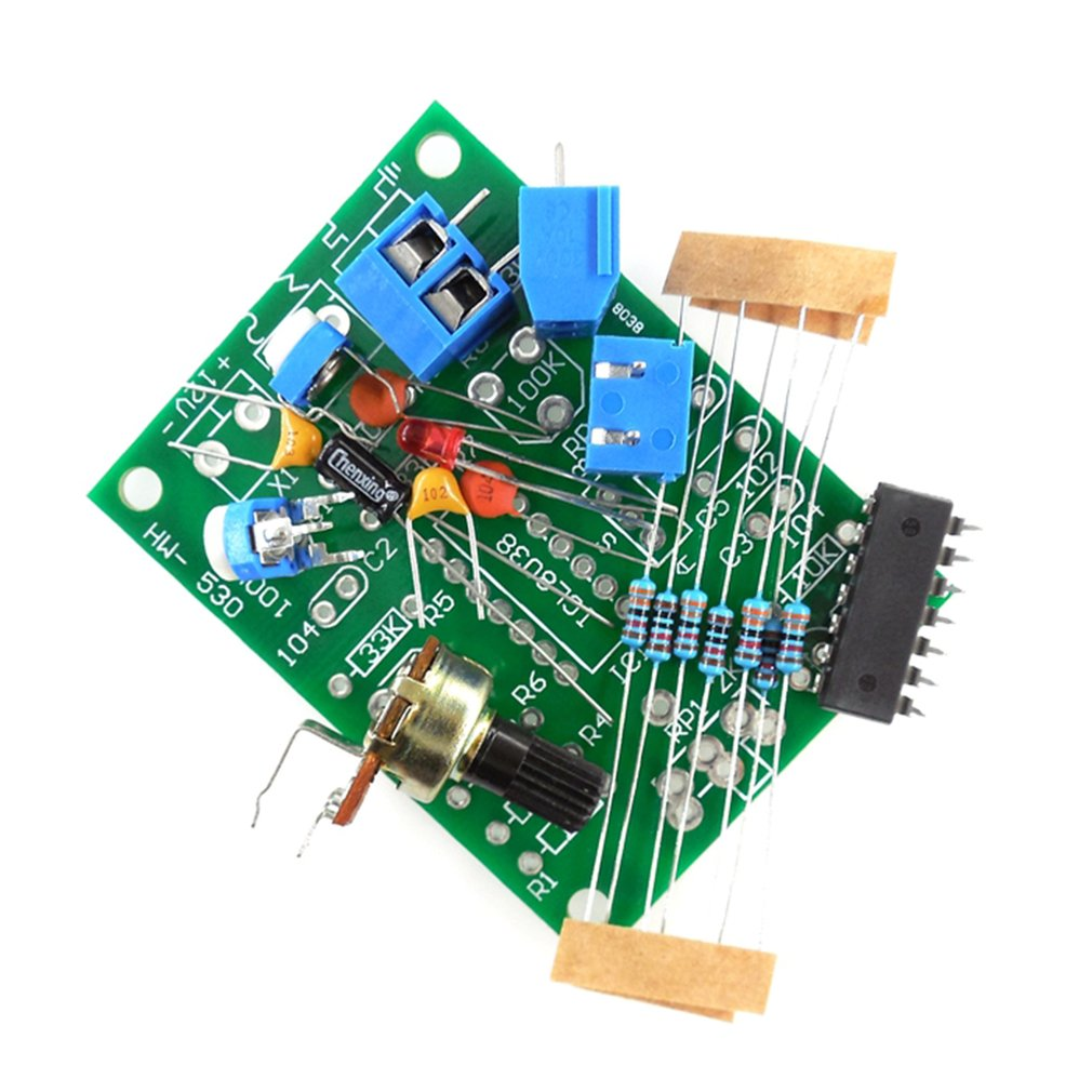 Hw 530 Icl8038 Function Signal Generator Circuit Production Sine Triangular Wave Triangle Square Parts Diy Spare Part