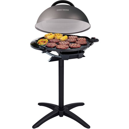 George Foreman 240  Indoor Outdoor Grill  15 Servings  Gfo240gm