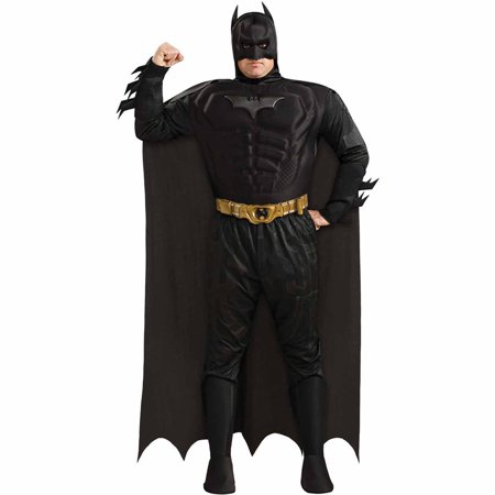 Knight Costume For Adults (Batman The Dark Knight Rises Muscle Chest Deluxe Adult Halloween)