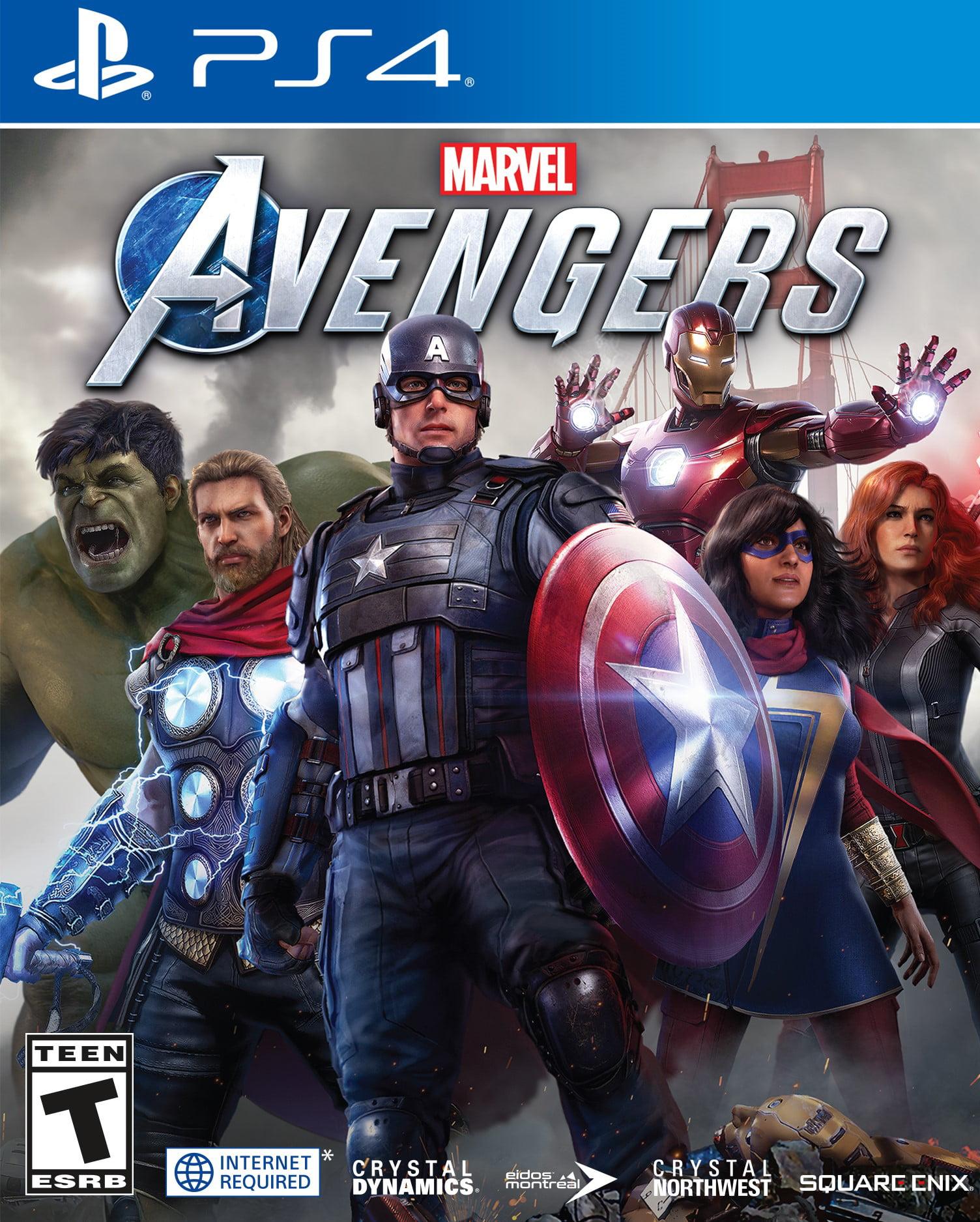 Marvel's Avengers ,SQUARE ENIX,PlayStation 4