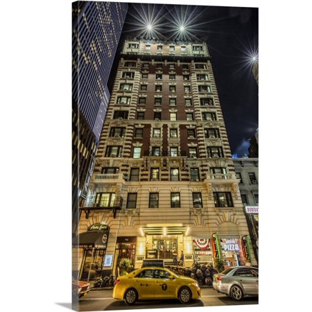 New York Apartment Buildings (Great BIG Canvas   Scott Stulberg Premium Thick-Wrap Canvas entitled Apartment building near Times Square in New York City )