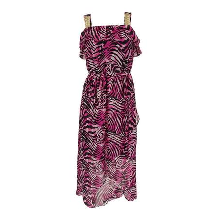 thalia sodi women's chain strap hi-low dress Chain Bustier Dress