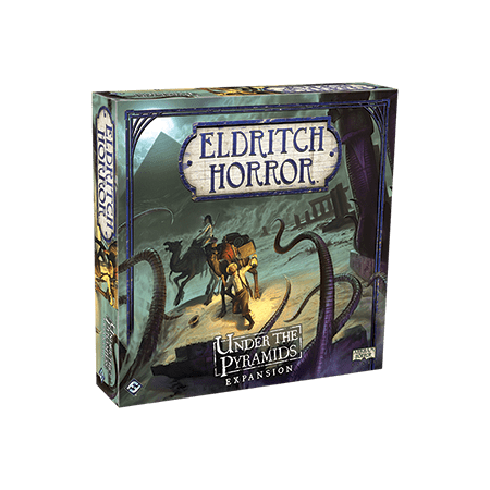 Eldritch Horror: Under the Pyramids Strategy Board Game - Causality Halloween Horror Game