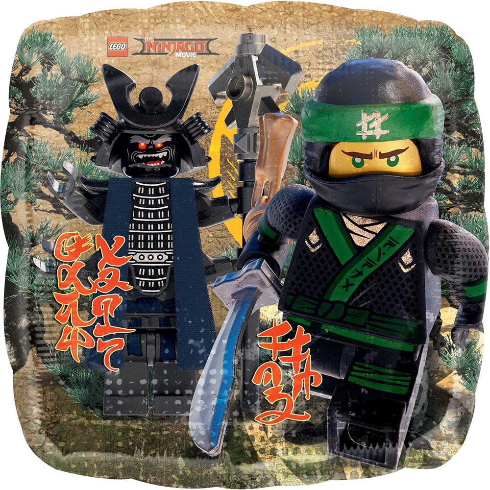 """Lego Ninjago Ninja Lego  Foil Balloon 18"""" ( Each )"""