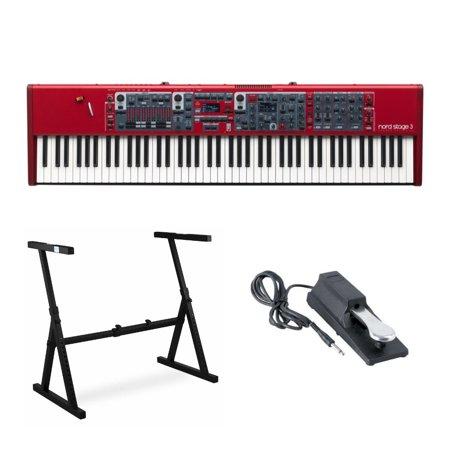 Nord Stage 3 88-Key Hammer-Action Keyboard with Stand and Sustain