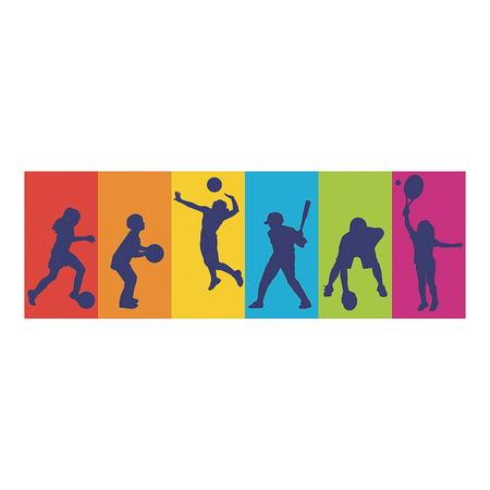 Fun Express - Sports Vbs Lg Backdrop Banner - Party Decor - Wall Decor - Preprinted Backdrops - 6 Pieces](Vbs Banner)