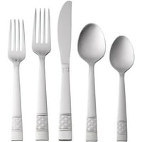 Mainstays 20 Piece Stainless Steel Flatware Sets