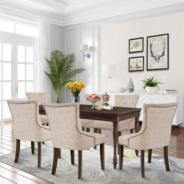 Tufted Upholstered Dining Chairs Set, Wayfair Dining Room Side Chairs