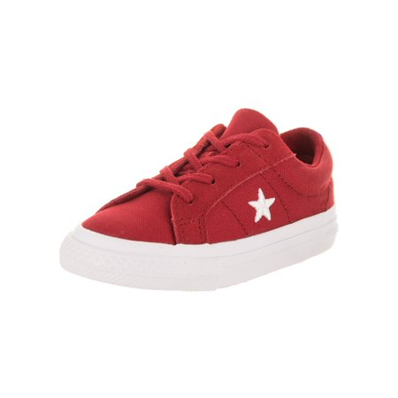 b83b7a3fda1a7c Converse Toddlers One Star Ox Casual Shoe - Walmart.com