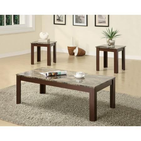 Coaster Furniture 3 Piece Casual Coffee Table (Coaster Furniture 3 Piece Table)