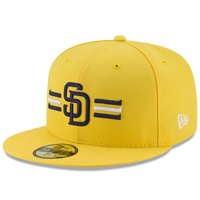 size 40 82411 7d6b2 Product Image San Diego Padres New Era Youth 2017 Players Weekend 59FIFTY  Fitted Hat - Yellow