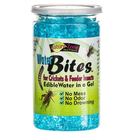 - Nature Zone Water Bites for Crickets and Feeder Insects 12 Ounce