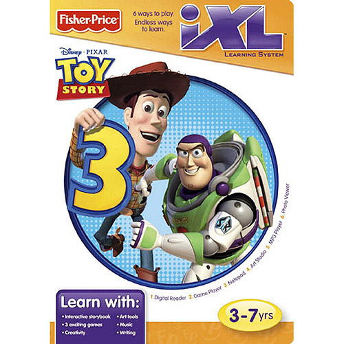 Fisher-Price iXL Toy Story Software