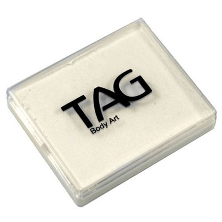 TAG Face Paint Regular - White (50g) (White Body Paint Halloween)