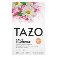 Tazo Tea Bags Calm Chamomile 20 Tea Bags