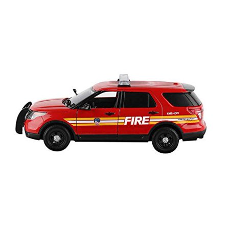 - Daron FDNY Fire Chief's Ford Suv 1/24 Diecast Model Replica