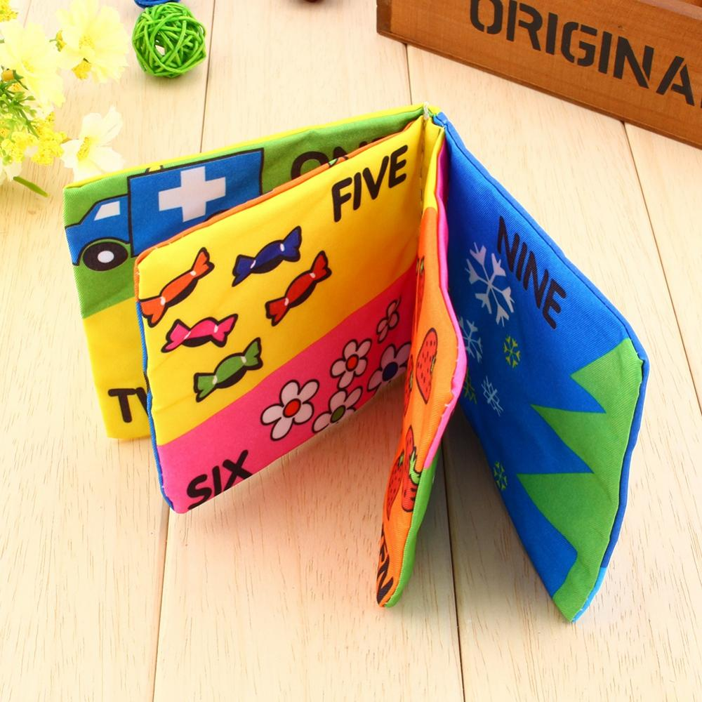 Educational Sensory Awareness Development Soft ClothToy Kids Baby Book , Cloth Book,Baby Cloth Book,Not easy to be torn