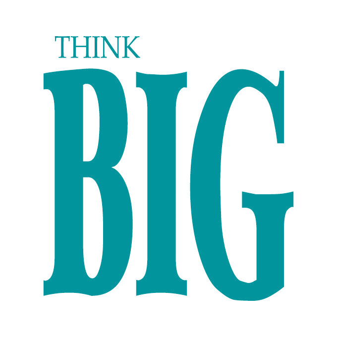 Think BIG Vinyl Graphic - Large
