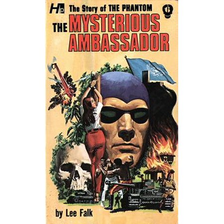 The Phantom: The Complete Avon Novels: Volume #6 the Mysterious Ambassador (Paperback) ()