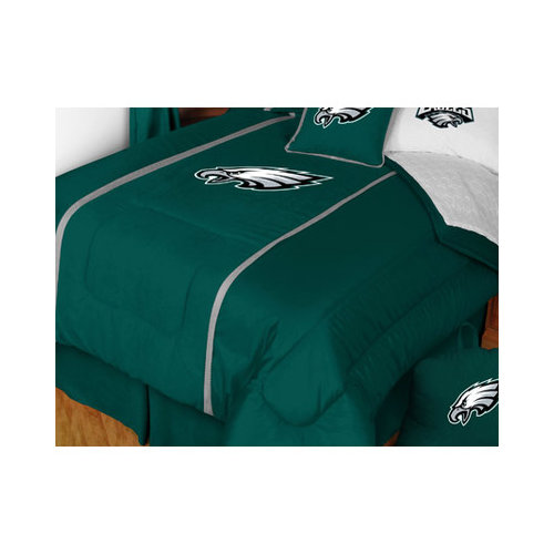 Bundle-50 Sports Coverage Philadelphia Eagles Sidelines Bedding Series (5 Pieces)