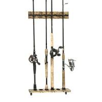 Organized Fishing Camo Vertical Modular Wall Rack