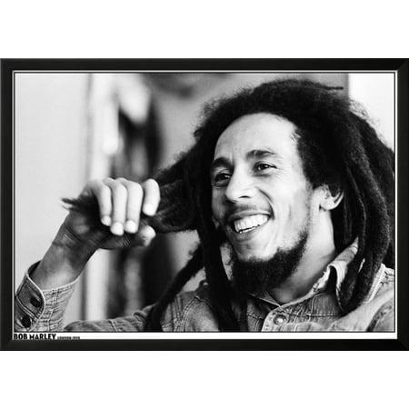Bob Marley- London 1978 Lamina Framed Poster Wall Art  - 35x23.5