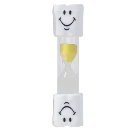 50a Timer Box (Kids Toothbrush Timer 2 Minutes Smiley Sand Timer for Brushing Children Teenager)