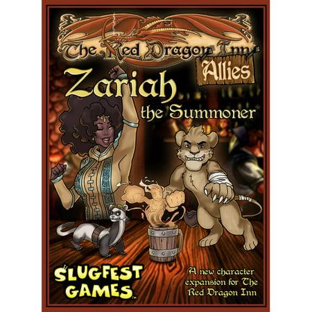 Slugfest Games Red Dragon Inn  Allies   160 Zariah The Summoner Expansion
