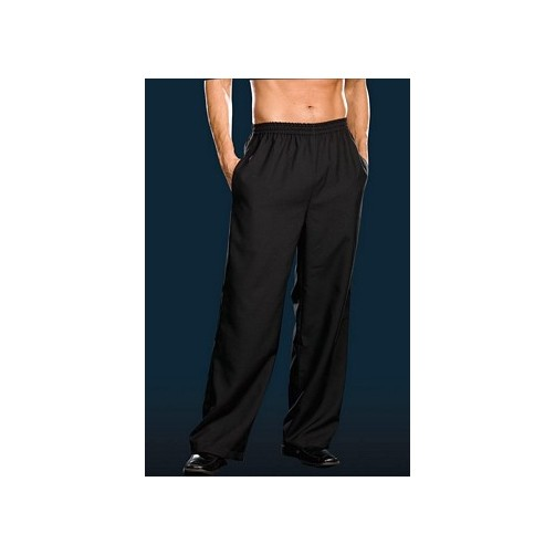 Black Mens Basic Pants Dreamgirl 6379