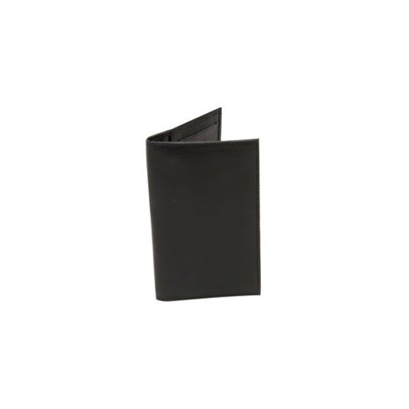 BLACKCANYON OUTFITTERS R 606BLK LEATHER CHECK BOOK WALLET  BLACK