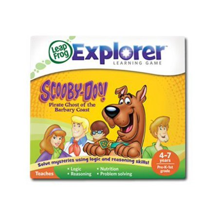 LeapFrog Scooby-Doo! Pirate Ghost of the Barbary Coast Learning Game (works with LeapPad Tablets, LeapsterGS and Leapster Explorer) - Leapster Handheld Games