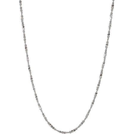 Women's Sterling Silver Serpentine Necklace, 20