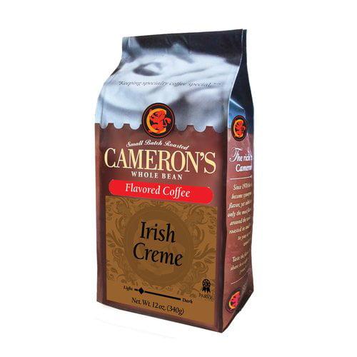 Cameron?s Irish Creme Whole Bean Coffee, 12 oz