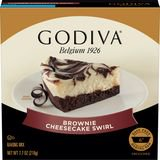 Godiva Brownie Cheesecake Mix - No Bake Cheesecake Truffles