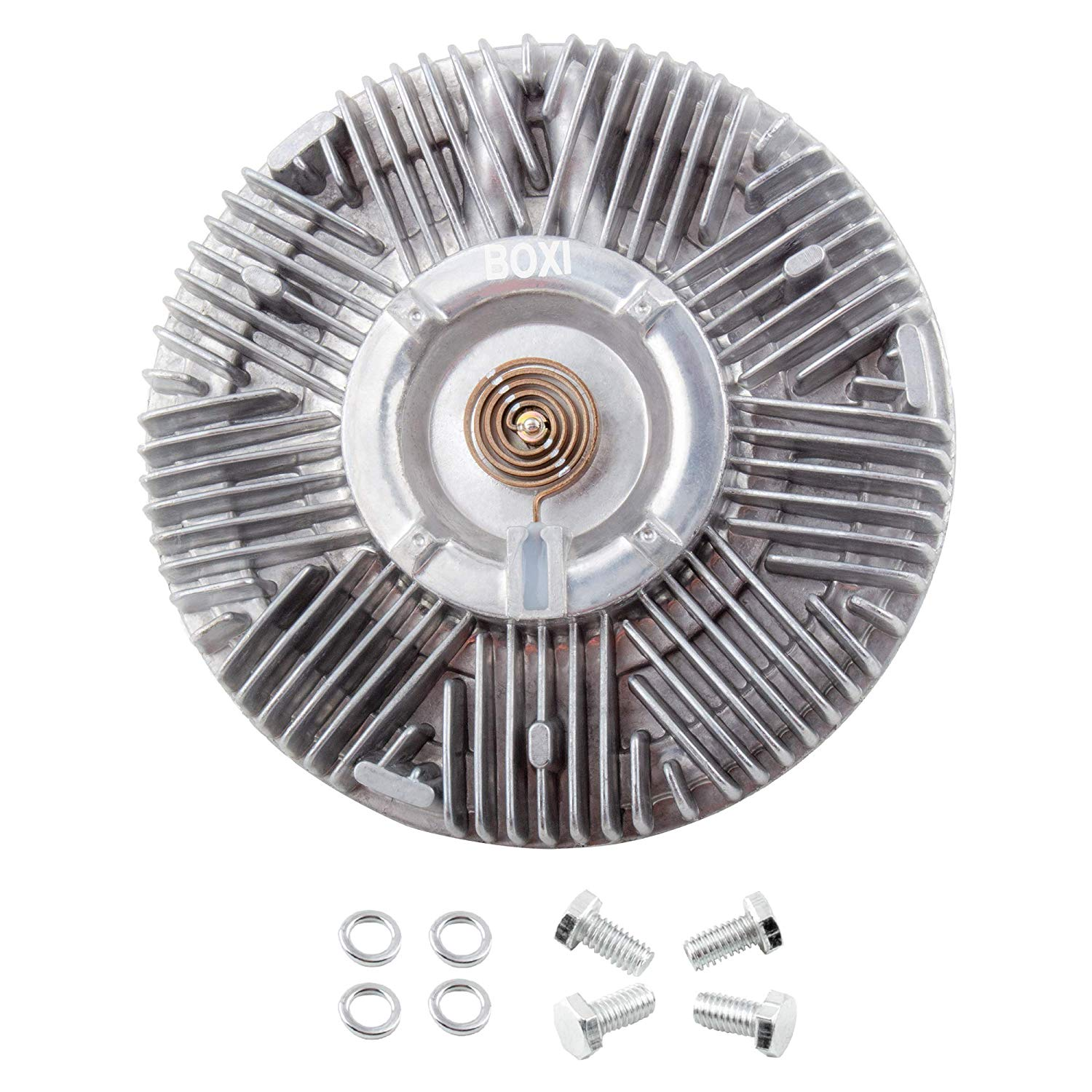 Jeep Comanche 1987-1992 2.4L 2.5L 4.0L Jeep Wrangler 1997-2006 Jeep Wagoneer 1987-1990 BOXI Engine Cooling Fan Clutch for Jeep Cherokee 1987-2001 Replaces 2625 36980