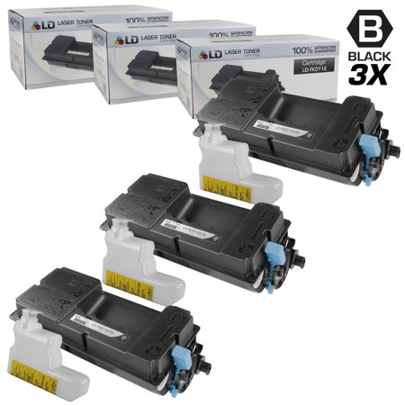 Limited Offer LD Compatible Kyocera-Mita Black TK-3112 / 1T02MT0US0 Laser Toner Cartridges for use in FS-4100DN Printers Before Too Late
