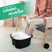Foot Soaking Bath Basin  Large Size for Soaking Feet | Pedicure and Massager Tub for At Home Spa Treatment | Callus, Fungus, Dead Skin Remover