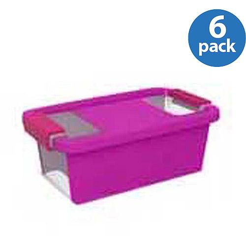 Kiss Bi-Storage Box, Set of 6, X-Small