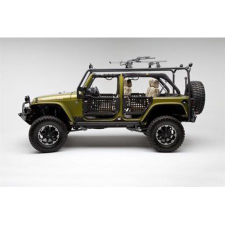 Body Armor 4x4 Roof Rack Base JK-6124-2 Roof Rack