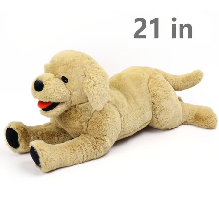 21 in Large Dog Stuffed Animals Plush, Soft Cuddly Golden Retriever Plush Toys, Stuffed Puppy Dog Toys, Gift for Kids,  - Golden Retriever Stuffed Animals