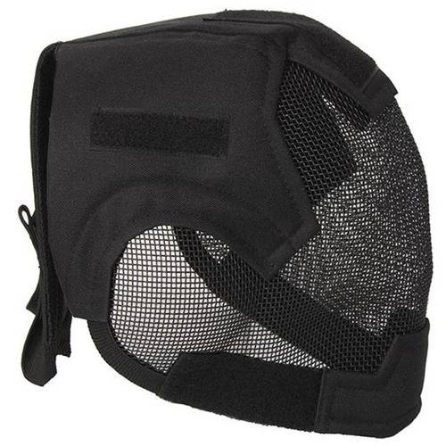 ALEKO PBM219BK Air Soft Protective Mask with Full Mesh Wire, Full Face, Black by ALEKO